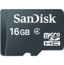 Sandisk 16 GB MicroSD Card Class 4 Memory Card for Rs. 389
