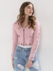 KOOVS Lace Up Jacket for Rs. 1,427
