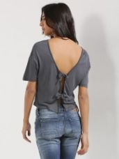 Buy NEW LOOK Knot Tie Back Top for Rs. 876