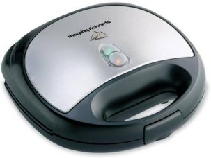 Buy Morphy Richards SM3006 Sandwich Toaster  (Steel Black) for Rs. 1,589