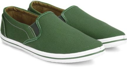 Flying Machine Canvas Canvas Loafers  (Green) for Rs. 711