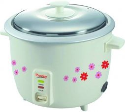 Buy Prestige PRAO Electric Rice Cooker with Steaming Feature  (1.8 L, NA) from Flipkart