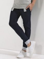 GARCON Indigo Joggers With Contrast Cuffs for Rs. 909