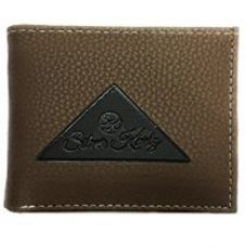 Buy Silver Kartz Men's Brown Tri-Log Smoothe Genuine Leather Wallet (taj-004) from Amazon