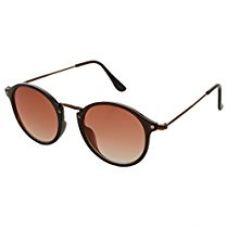 Buy Faddish Round Women's Sunglasses(To57Dbbzbrgpto5T|48|Brown) from Amazon