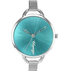 Eleganzza Analogue Blue Dial Women's Watch - S001AquaBlue for Rs. 399