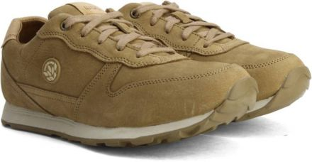 Flat 30% off on Woodland Sneakers  (Tan)