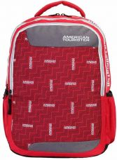 Buy American Tourister AMT CRUNK 2017 21 L Backpack  (Red) from Flipkart