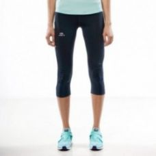 Buy ELIOPLAY WOMEN'S RUNNING CROPPED TROUSERS NAVY from Decathlon