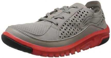 Li-Ning Men's Grey and Pink Mesh Multisport Training Shoes - 8 UK for Rs. 1,306