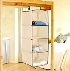 PINDIA Non-Woven Cloth Hanging Storage Wardrobe for Rs. 399