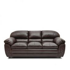 Buy Mirage Brown Three Seater Sofa for Rs. 38,900