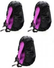 Flat 61% off on Caris Water Resistant Bag Pack Cover- Set Of 3