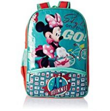 Disney Turquoise Children's Backpack (Age group :8-12 yrs) for Rs. 899