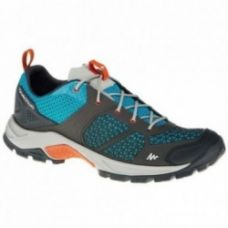 Buy Forclaz 500 Men's fresh blue hiking shoes for Rs. 1,999