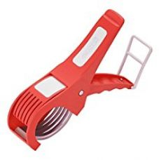 Amiraj Plastic Vegetable Cutter, White/Red for Rs. 248