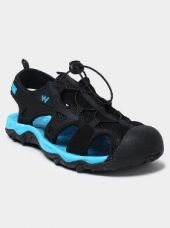 Wildcraft Men Black & Blue Sports Sandals for Rs. 2,595