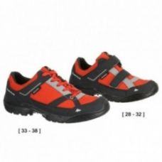 Buy Arpenaz 50 Children's Waterproof Hiking Shoes red for Rs. 499
