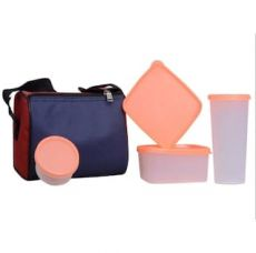 Get 86% off on Topware Transparent Orange 4 Containers Lunch Box