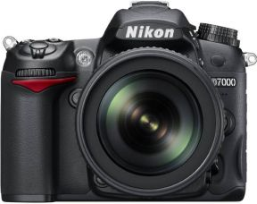 Nikon D7000 DSLR Camera (Body with AF-S DX NIKKOR 18-105 mm F/3.5-5.6 G ED VR)  (Black) for Rs. 58,950