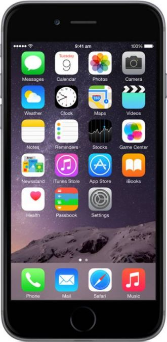 Buy Apple iPhone 6 (Space Grey, 16 GB) from Flipkart
