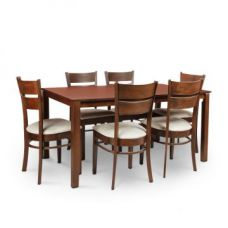Beldon Six Seater Dining Set Wenge for Rs. 32,900