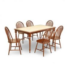 Kiera Six Seater Dining Set for Rs. 49,900