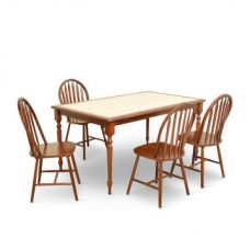 Buy Kiera Four Seater Dining Set from Fabfurnish