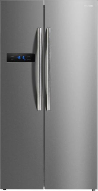 Buy Panasonic 582 L Frost Free Side by Side Refrigerator  (NR-BS60MSX1, Stainless Steel, 2016) for Rs. 55,999