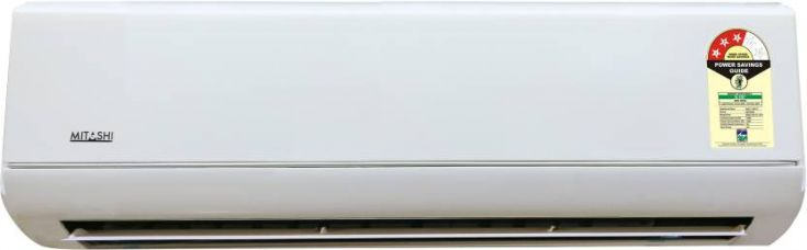 Get 25% off on Mitashi 1 Ton 3 Star Split AC  - White  (MiSAC103v15, Copper Condenser)