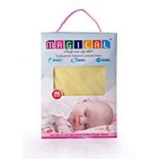 MAGICAL - QUICK DRY WATERPROOF MAT / MATTRESS PROTECTOR BABY SHEET -GIFT PACK - LARGE (YELLOW) SIZE- 100 CM * 140 CM for Rs. 589