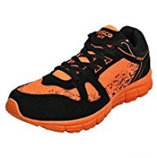 Cosco Hit Running Shoes, Adult Size 8 (Orange) for Rs. 474