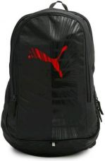 Get 56% off on Puma Graphic 33 L Backpack  (Black, Red)