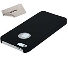 Buy Sgm Pc-Ip5S-Blk Slim Fit Matte Finish Hard Case Cover For Iphone 5S / Iphone 5 (Black) + Microfiber Cleaning Cloth from Amazon