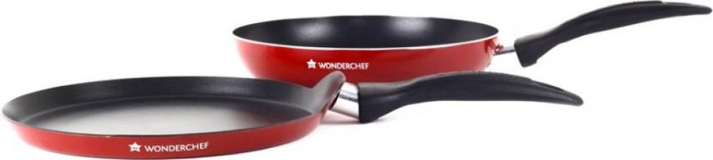 Wonderchef Ruby Series Cookware Set  (Aluminium, 2 - Piece) for Rs. 909