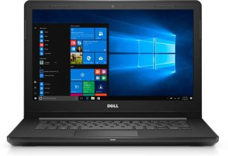 Dell Inspiron Core i3 6th Gen - (4 GB/1 TB HDD/Windows 10 Home) 3467 Notebook  (14 inch, Black, 1.956 kg) for Rs. 33,490