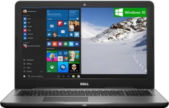 Buy Dell Inspiron 5000 Core i5 7th Gen - (4 GB/1 TB HDD/Windows 10 Home/2 GB Graphics) 5567 Notebook  (15.6 inch, Black, 2.36 kg) from Flipkart