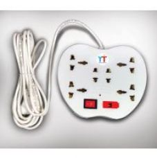 Buy YTI Apple Power Strip 6 Sockets with 1 Switch and Indicator for Rs. 169