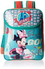 Buy Minnie Turquoise and Orange Backpack (MBE-WDP0410) from Amazon