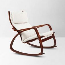 Get 43% off on Vita Rocking Chair Brown And Beige