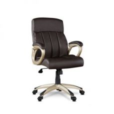 Henry Medium Back Office Chair Brown for Rs. 12,500