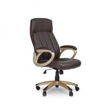 Get 52% off on Henry Medium Back Chair Brown