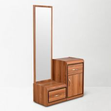 Buy Archer Dresser With Mirror Teak for Rs. 12,900