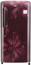 Buy LG 215 L Direct Cool Single Door Refrigerator(GL-B221ASAW, Scarlet Aster, 2017) for Rs. 16,999