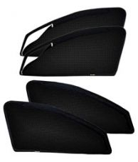 Buy Kingsway Magnetic Sunshades with Zipper for Side Windows Set of 4 Black from SnapDeal