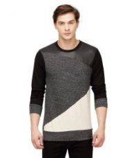 Buy Campus Sutra Grey Round T Shirts for Rs. 549