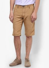 Get 50% off on Celio Solid Camel 3/4Ths