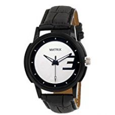 Buy Matrix Casual Analogue White Dial Men & Boys Watch-WCH-208 from Amazon