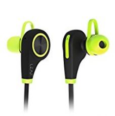 Leaf Ear Wireless Bluetooth Earphones with Mic (Neon Green) for Rs. 2,499