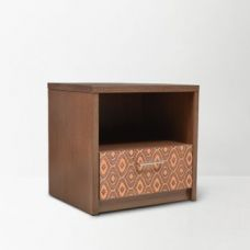 Flat 57% off on Nebula Side Table Brown